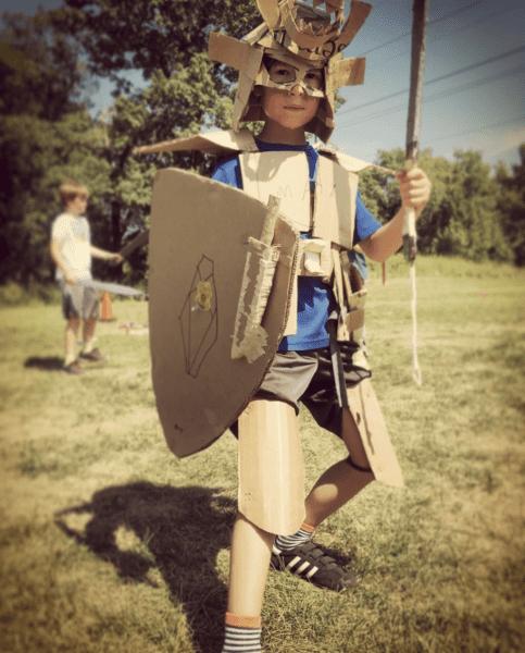kid armor